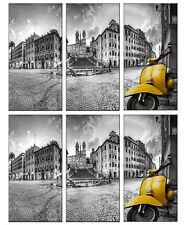 quadro-serigrafia-piazza di spagna vespa-impression-prodotto italiano-impresión