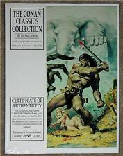 THE CONAN CLASSICS COLLECTION ~ SET 6 ~ 1990 LIMITED EDITION ART PORTFOLIO 1of3