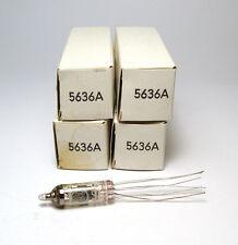 4x 5636a/ef730/ef 730 subminiatur tubo, nos