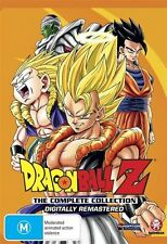 Dragon Ball Z Remastered Uncut Complete Collection NEW R4 DVD