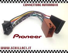 Connettore adattatore ISO autoradio PIONEER 16 contatti installazione stereo 03