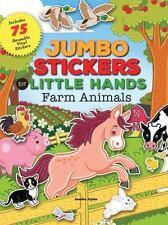 Jumbo Stickers for Little Hands: Farm Animals by Jomike Tejido (2016, Paperback)
