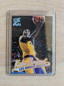 Kobe Bryant Fleer Ultra Rookie Card 96-97 Basketball Card