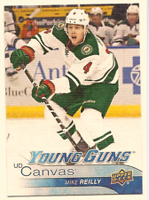MIKE REILLY 2016-17 UPPER DECK SERIES 2 YOUNG GUNS CANVAS ROOKIE CARD