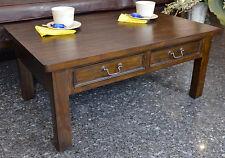 Tisch Beistelltisch Couchtisch Massiv Holz Vintage Kaffeetisch Kolonialstil
