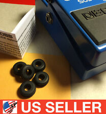 BOSS CS-3 Compressor Universal Rubber Grommet O-Ring Pedal Stop 5pc Upgrade Kit