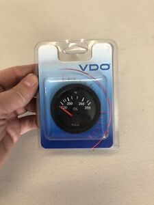 310-106 NEW VDO Oil Temp Temperature Gauge Electric 300 Degrees