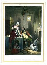 Stahlstich Jagd, Beaume: Le retour de la chasse, 1870, Grafik, Gravure sur acier