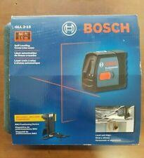 Bosch Gll 2 15 Self Leveling Cross Line Laser 50ft Range