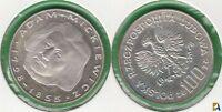 POLONIA - POLSKA. 100 ZLOTYCH DE 1978. PLATA 0.625.