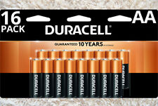Duracell Coppertop AA Alkaline 16 Pack Or Two 8 Packs Batteries Free Shipping