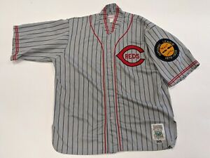 MLB Vintage Cincinnati REDS 1925 Replica ROAD Baseball Jersey Mitchell & Ness XL