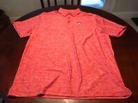 Red Under Armour Torrey Pines Logo Shirt Size XL