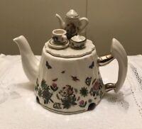 "Miniature Tea Pot ""PORTMEIRION Botanical Garden Tea Table"""