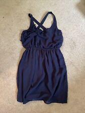womens eyelash couture navy Dress size medium