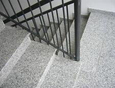 Naturstein Treppenstufe inkl. Stellstufe Granit Bianco Sardo 3cm poliert