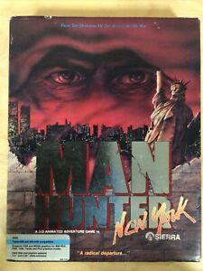 "Manhunter: New York (1988 Sierra) Complete! 3.5""/5.25"" IBM/MS-DOS Game"