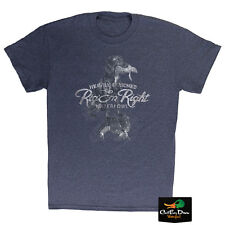 RIG'EM RIGHT WATERFOWL RETRIEVER LOGO SHORT SLEEVE T-SHIRT LARGE