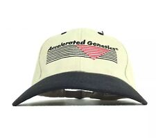 Accelerated Genetics Embroidered Baseball Cap Hat Adj Adult Size Cotton
