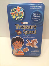 Nick Jr Go Diego Go Colorforms Treasure Quest Tin Replacement Parts Or As Is