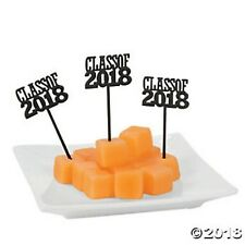 72 GRADUATION Picks Class of 2018 Food Cupcake Picks Meats, Cheeses Desserts NEW