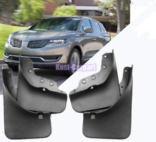 For 2016-2018 2019 Lincoln MKX Splash Guards Mud Flaps Mud Guards Fender 4PCS