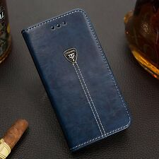 Luxury Magnetic Flip Cover Stand Card Wallet PU Leather Case For HTC ONE X10
