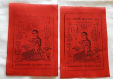MAE NANG KWAK Pha Yant Talisman Thai Amulet Buddha Buy 1 Free 1