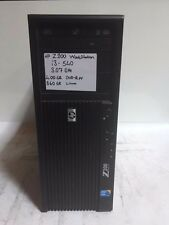 HP Z200 WORKSTATION Core I3 540 3.07Ghz 4GB 360GB Linux DVDRW