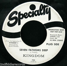 KINGDOM-Seven Fathoms Deep-Rarer Organ Drenched Psych Rock DJ 45-SPECIALTY #722