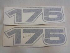 "BAYLINER 175 DECAL PAIR ( 2 ) BLACK 7 1/4"" X 2"" MARINE BOAT"