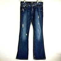 7 For All Mankind Bootcut Jeans Womens Size 30