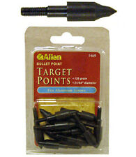 "New 12 Allen Archery Target Arrow Bullet Points,21/64"" Point,125 Grain,1469"