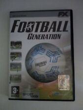 Gioco PC calcio Football Generation CD-ROM