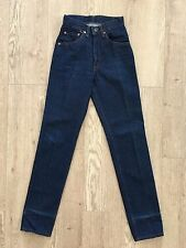 VINTAGE LEVI's Levis 502 FLY BUTTON 1-Wash 501 Redone 25 X 32 Tapered High Waist