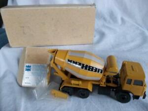 Conrad 3245 Magirus Iveco Liebherr  Cement Mixer 1:50 Diecast  Orig Box EUC