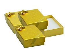 6 Pièces Boîte à Bijoux Doré avec Nœud Ii. Choix Étui Bijoux, Mini Boite