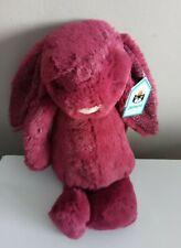 Jellycat Bashful Sparkly Cassis Bunny Medium NEW