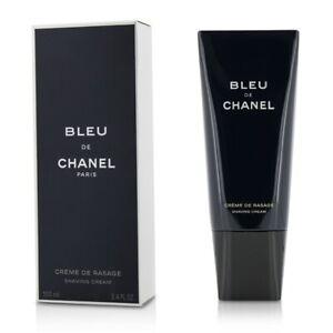 NEW Chanel Bleu De Chanel Shaving Cream 100ml Perfume