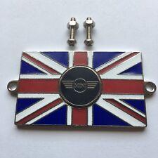 Klassisch Mini Union Jack Gb Messing Emaille Auto Abzeichen - Bolzen Auf