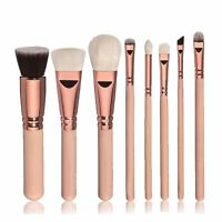 8/12pcs Professional Cosmetic Makeup Brush Set Blusher Eye Shadow Brush Tool New