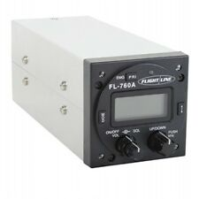 FlightLine VHF COMM TRANSCEIVER/2-1/4 Round/Includes 15-pin sub D connector and