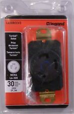 Legrand L630RCCV3 Industrial TurnLok Locking Outlet 30 Amps 250V 3W NEW Open