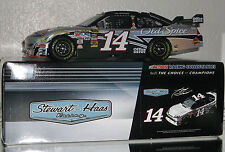 2010 TONY STEWART #14 OFFICE DEPOT FLASHCOAT SILVER 1/24 CAR#691 OF 1200 MADE