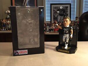 Howie Long Oakland Raiders Framed Jersey Bobblehead