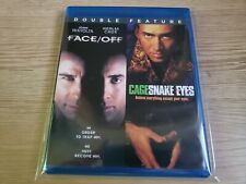 Snake Eyes - Face/Off (Blu-ray, 2-Discs) Nicolas Cage Mint