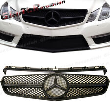 Tune to E63 Look Front Grille Black For 10-13 W207 E-Coupe Convertible E250 E550