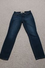 GAP Women's Ladies true skinny ankle denim jeans 26 26R EUC 2