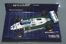 Minichamps 1/43 F1 WILLIAMS FW08 SAUDI TAG - KEKE ROSBERG - 1982 WORLD CHAMPION