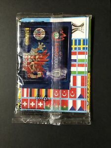 Euro Panini 2008 Football Poster With Packet Of Unopened Cards
